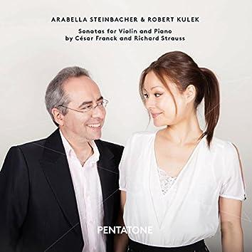 Franck & Strauss: Sonatas for Violin & Piano