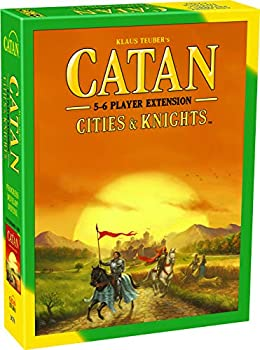 CATAN Cities and Knights Board Game EXTENSION allowing a total of 5 to 6 players for the CATAN Cities and Knights Expansion   Board Game for Adults and Family   Made by Catan Studio