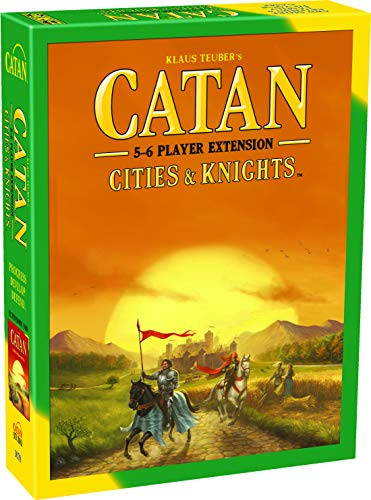 CATAN Cities and Knights Board Game EXTENSION allowing a total of 5 to 6 players for the CATAN Cities and Knights Expansion | Board Game for Adults and Family | Made by Catan Studio