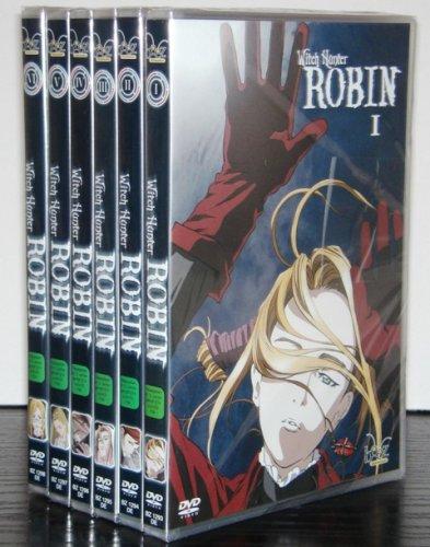 Witch Hunter Robin, Vol. 01 bis 06 Komplett-Set