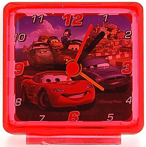Disney Réveil de Chevet Rouge pour Enfant Illustré par Flash MC Queen de Cars