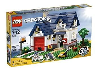 LEGO Creator Apple Tree House  5891  - 539 Piece set  Discontinued by manufacturer