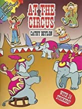 At the Circus (Dover Coloring Books)