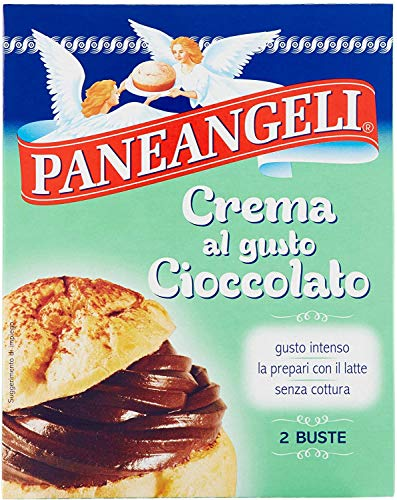 Paneangeli Crema al Gusto Cioccolato Per Dolci e Dessert 3 Pezzi Da 172 Grammi