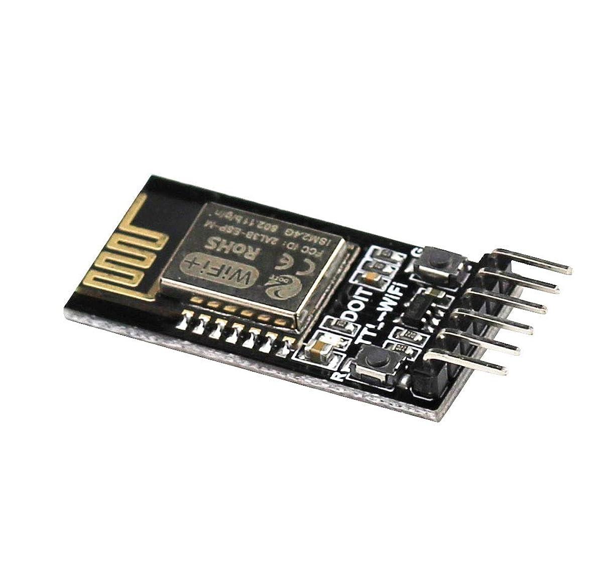 小麦ギャップ便利さAihasd DT-06 ワイヤレス WiFi シリアルポート 透明 トランスミッションモジュール TTLからWiFi互換 Bluetooth HC-06 インターフェース ESP-M2