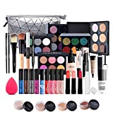 Makeup Kit for Women Full Kit, 37PCS Multi-Purpose Makeup Kit All-in-One Makeup Gift Set Makeup Essential Starter Kit, Compact and Lightweight Design for Girls, Women