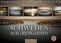 Schweden Schaerengarten (Tischkalender 2022 DIN A5 quer): Gruene, bewohnte Inseln, menschenleere und felsige, kahle Schaeren charakterisieren Schwedens extrem schoenen Schaerengaerten. (Monatskalender, 14 Seiten )