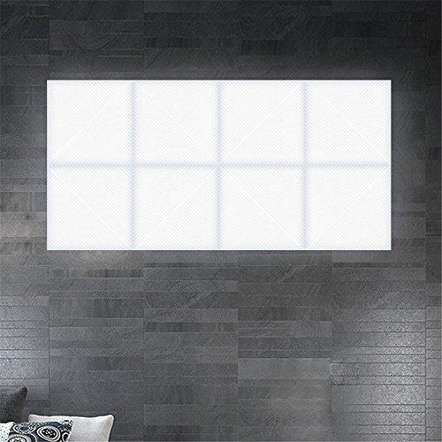 YU-K eenvoudige vintage woonkamer eetkamer vierkant muur ledrestaurant slaapkamer wandlicht mozaïek combinatie wandlamp, 100 mm * 380 mm