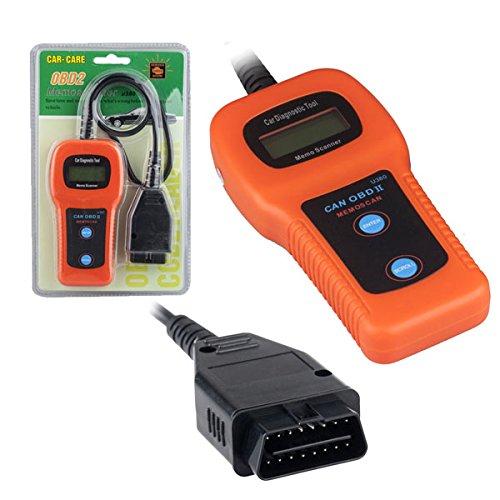 U380 carro del coche OBDII OBD2 memorándum escáner DTC los códigos de problemas lector VPW PWM