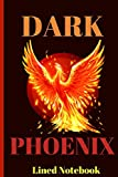 Dark Phoenix: Lined Notebook To Write In. Inspired By X-Men