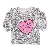 Desigual T-Shirt Manga Larga bebé-niñas XX-Small Gris