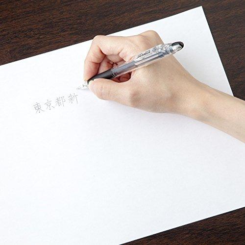 『ゼブラ シャープペン ジムメカ 黒 10本 B-KRM-100-BK』のトップ画像