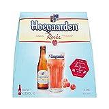 Hoegaarden Bière Blanche à la Framboise Rosée 6 x 25 cl