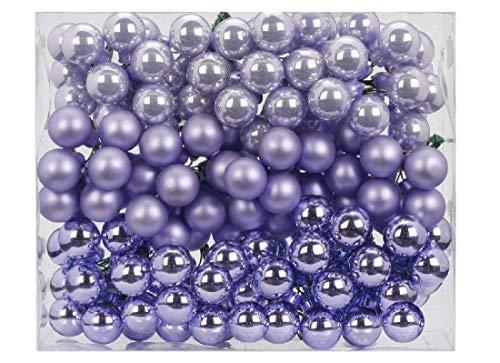 Decpero 144 - Lamponi A Specchio, Ø 20 Mm/Dreamy Lilac Mix/Sfere Di Vetro