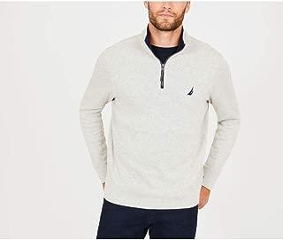 Nautica Men's Long Sleeve Half Zip Mock Neck Sweatshirt