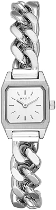 DKNY Women's NY2667 Year-Round Analog-Digital Quartz Silver Band Watch