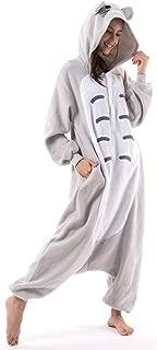 Unisex Adult Animal Totoro Halloween Costume Plush Pajamas