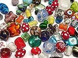 POSTEN PERLEN Glas GLASPERLEN Beads 250g Fancy SILBERFOLIE