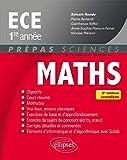 Mathématiques ECE 1re année - 3e édition actualisée