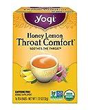 Yogi Tea, Honey Lemon Throat Comfort, 16 Count