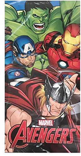 Toalla Avengers Marvel Microfibra Poliester Matvel Vengadores