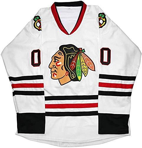 Beautyup Clark Griswold Jersey, 00 Weihnachten Weihnachtsferien Film Hockey Jersey Genähte Männer Eishockey Trikots (Color : White, Size : XL)
