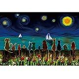 Bria Four Seasons - Puzzle de árbol de la vida (500/1000/1500/2000/3000/4000/5000/4000/5000/6000 piezas), diseño de león Venecia colorido, 0226 (color: D, tamaño: 2000 piezas)