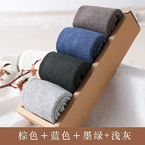 Zhaoaiqin herenbuis puur verdikking Terry Warm Viejo katoen zwart handdoek code bruin blauw donkergroen lichtgrijs