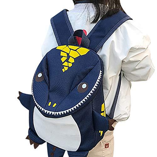 Kleiner Rucksack für Kinder, niedlich, Dinosaurier, Schulranzen, Baby, Schultasche, Mädchen, Jungen, Rucksack, Tiere, für Kindergarten, Schule, Grundschule, Vorschulalter, Picknick, 2-5 Jahre