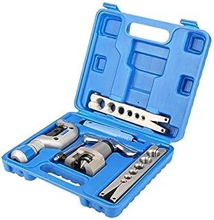 SISHUINIANHUA Kit de Herramientas de abocardado de tubería Manual 5 en 1 Expansor de tubería de Cobre para reparación de refrigeración de refrigerador
