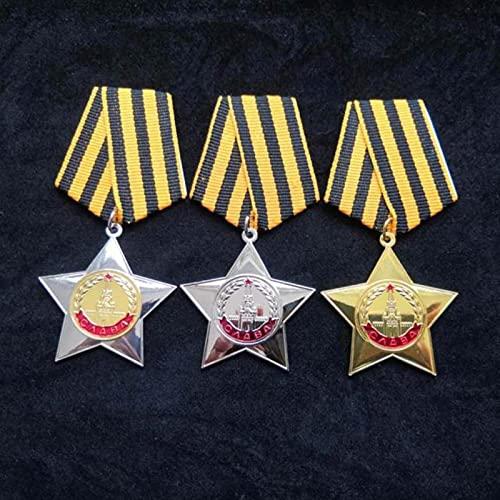 YUNjun Medalla Militar de la Unión Soviética Orden de la GloriaMedallas de laURSSInsignias de Metal de Rusia