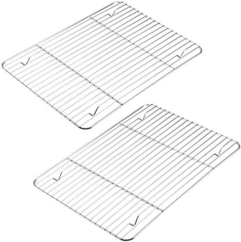 Mokpi Stainless Steel Baking Rack Oven Safe Cooling Rack Size 15 2 x11 3 Heavy Duty Commercial product image