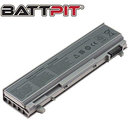 BattPit Laptop Battery for Dell Latitude E6400 E6410 E6500 E6510 E8400 E6400ATG Precision (Workstation) M2400 M4400 M4500 KY265 KY266 W1193 NM631 4M529 PP30L PT434 - [6-Cell/4400mAh/49Wh]