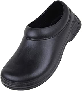 Dolity Mens Comfy Soft Hospital Kitchen Nursing Clogs Strapless Anti-Slip Shoes