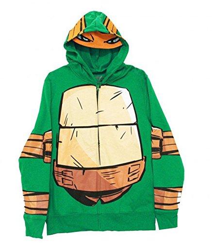 Teenage Mutant Ninja Turtle Costume Men Hoodie (L)