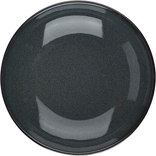 Juego de cuencos de cereales de cerámica para horno de gres Ensaladera Retro Bucket Home Large Open Plate Tazón grande para pasta