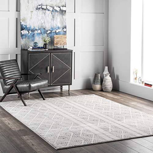 alfombra gris fabricante nuLOOM