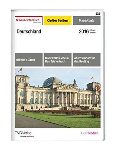 Das Telefonbuch Gelbe Seiten Map&Route Frühjahr/Sommer 2016