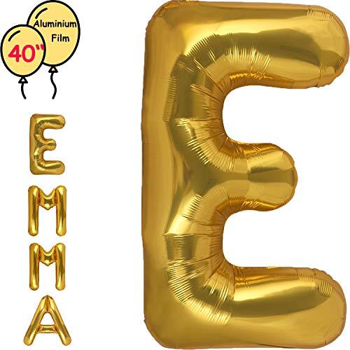 Dizoony Globos de Letras Jumbo Balloon Foil de cumpleaños Decoración Fuentes de...