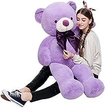 MaoGoLan Giant Teddy Bear Purple Large Stuffed Animals Big Bears Plush Toys for Girls Children Girlfriend Valentine's Day 47 Inch
