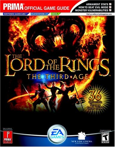 """The """"Lord of the Rings"""": Third Age - Official Strategy Guide"""
