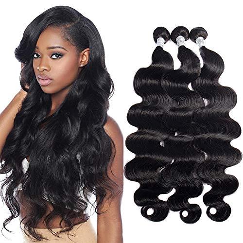 Body Wave 3 Bundles 9A 100% Unprocessed Body Wave Hair Bundles (20 22 24 inch) Brazilian Virgin Hair Weave Human Hair Extension