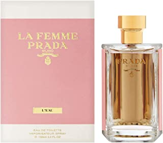 PRADA La Femme L'Eau For Women Eau De Toilette, 100 ml