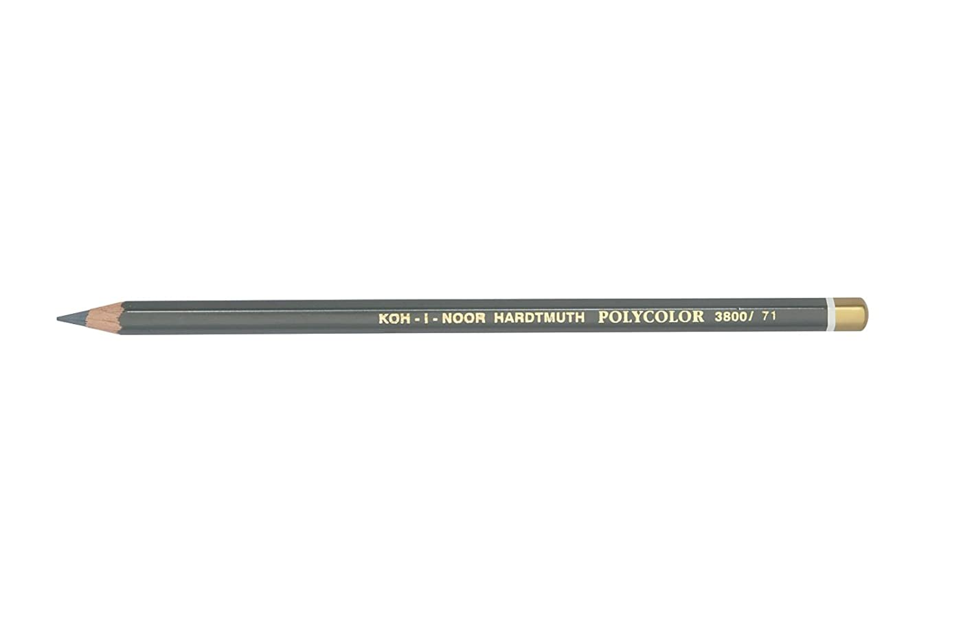 Chartpak 3800071020KS 3800 Medium Grey Polycolor Pencil