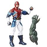 Marvel 6-Inch Legends Series Energized Emissaries: Captain Britain