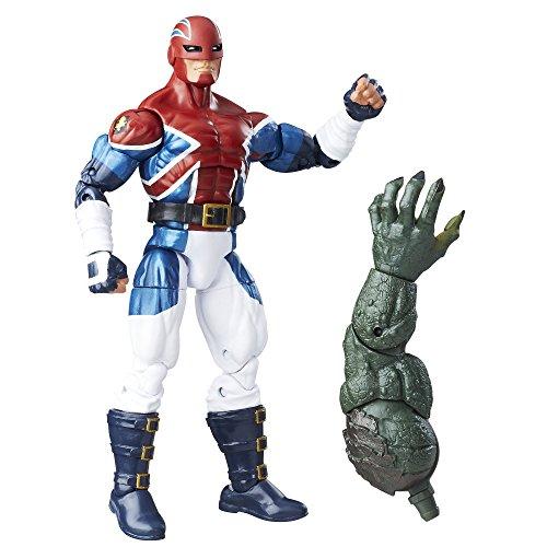 Marvel Captain America Legends: Captain Britain 15cm Figurine