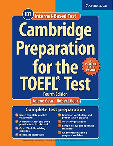 Cambridge Preparation for the TOEFL Test Book with Online Practice Tests [Lingua inglese]