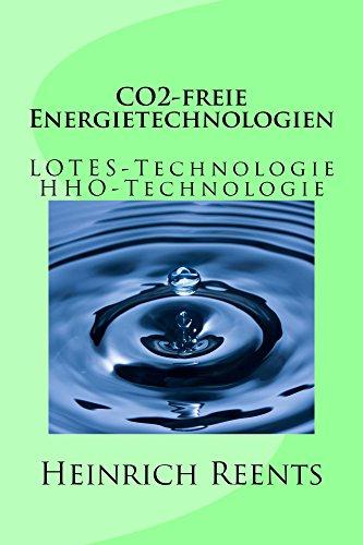 CO2-freie Energietechnologien: LOTES-Technologie HHO-Technologie (Energie aus Wasser)