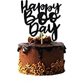Happy Boo Day Cake Topper, Halloween Birthday Cake Topper, Here for the Boos Decorations, Ghost Halloween Birthday Party Decorations