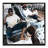 A&D YG Rapper perché Hai Sempre Hatin Hip Hop Music Star Poster su Tela Decorazione murale Immagini Stampe su...